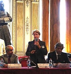 Торговый представитель России в Италии и сопредседатель Рабочей группы г-жа Натэла Шенгелия