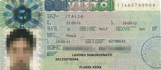В Италии, приезжающим на работу иностранцам, нужно набрать баллы для получения вида на жительство