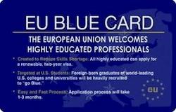 Carta blu получат квалифицированные рабочие из не стран ЕС