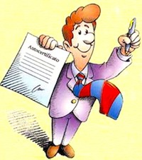 Самостоятельно подготовленный документ — самосертификат — избавил граждан Италии от необходимости посещения муниципальных офисов и потери времени в очередях для получения той или иной справки