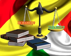 83% итальянцев, ставших «иностранными адвокатами» у себя на родине, получили адвокатский статус в Испании, 4% — в Румынии. Больше всего адвокатов, зарегистрированных в специальной секции реестра и имеющих итальянское гражданство, оказалось в Риме — 1058. В Милане почти в три раза меньше — 314, в Латине — 129 и Фодже — 126.